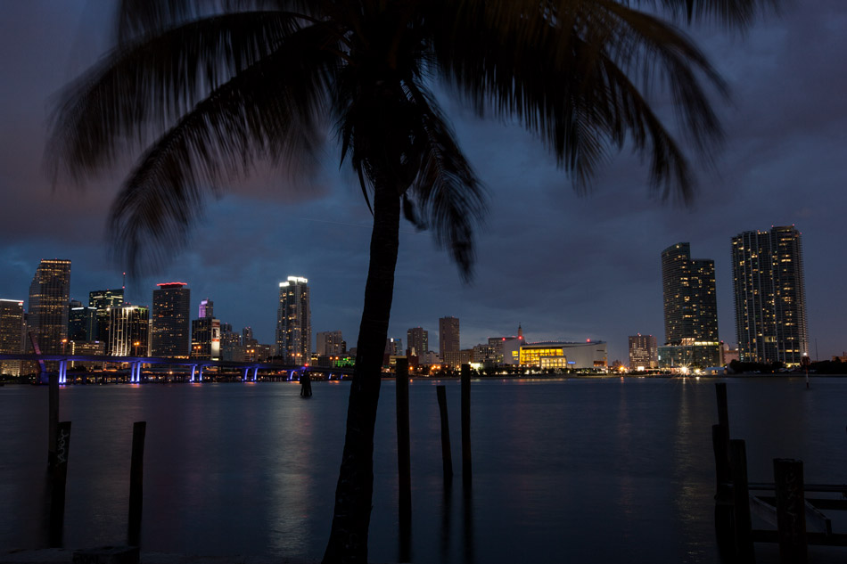 Miami skyline photo